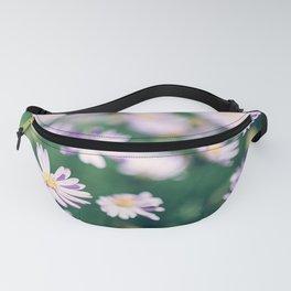 Sweet Daisy Wild Flowers in Field Fanny Pack