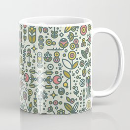 36dot Flower Garden Coffee Mug
