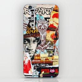 Born To Roll iPhone Skin