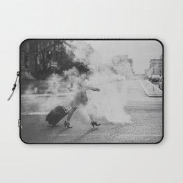 Steamy in the street Laptop Sleeve
