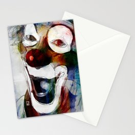 Circus Clown Stationery Cards