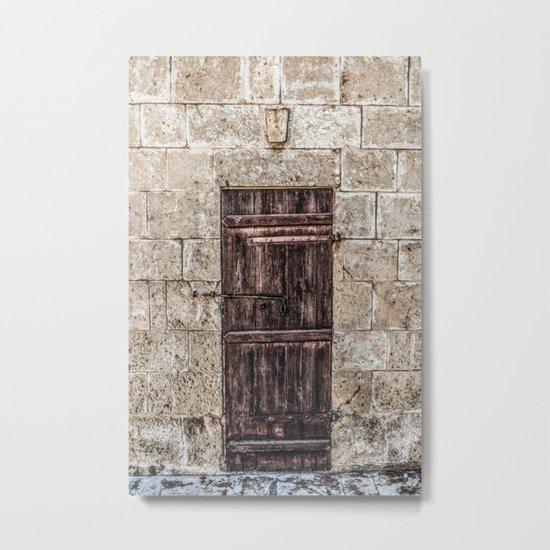 Door I Metal Print