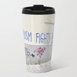 Feminism fights back Travel Mug