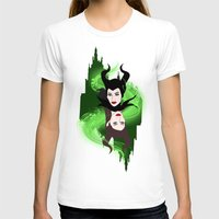 maleficent T-shirts featuring Maleficent by Pendientera