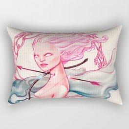 Bowed and Arrowed Rectangular Pillow