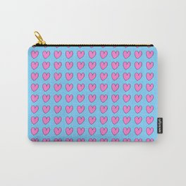 heart and blue 2 -love,romantism,romantic,cute,beauty,tender, tenderness Carry-All Pouch