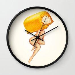 Twinkie Girl Wall Clock