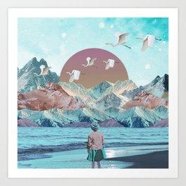 Nature atmosphère Art Print