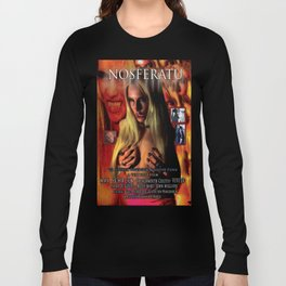 Nosferatu vs. Father Pipecock & Sister Funk (2014) -Movie Poster Long Sleeve T-shirt