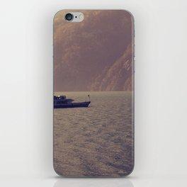 Swiss Boat Trip iPhone Skin
