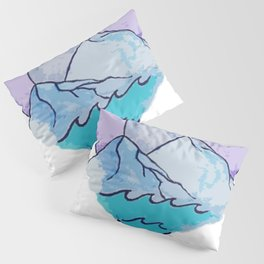 Land and Sea Pillow Sham