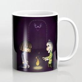 Frisk and Asriel Coffee Mug