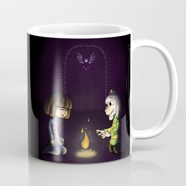 Frisk and Asriel Coffee Mug