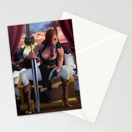Kyra the pirate Stationery Cards