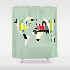 This is not a test Shower Curtain