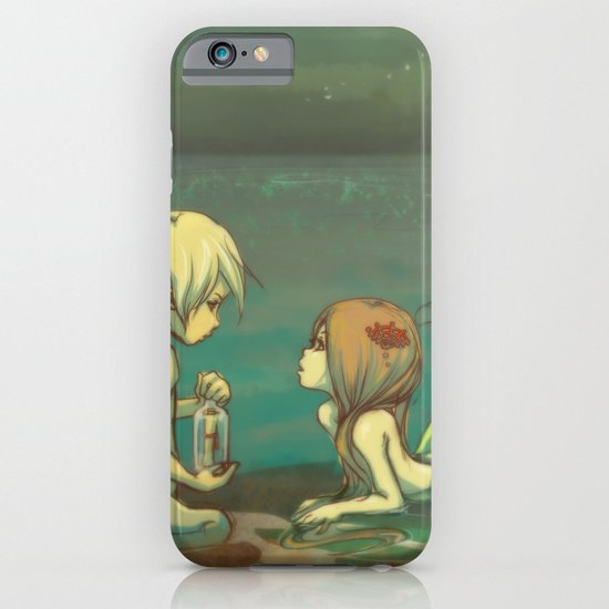 Message in the bottle iPhone & iPod Case