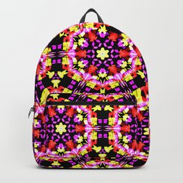 Tiny Floral Pattern Backpack