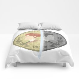 Heads or Tails ? Comforters