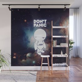 Don't Panic Marvin Wall Mural
