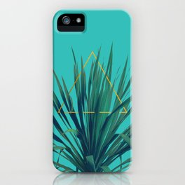 Geometric Fountain iPhone Case