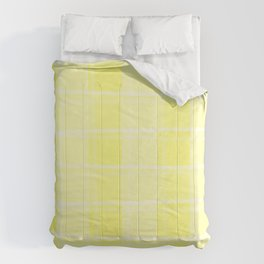 Delicate intersections of light and yellow lines on a pastel background. Comforters