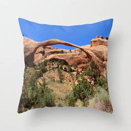 Beautiful Landscape Arch Throw Pillow