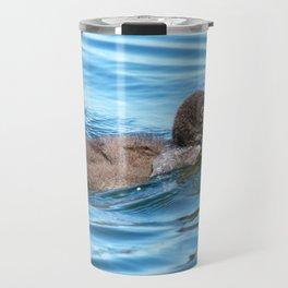 Baby loon solo swim Travel Mug