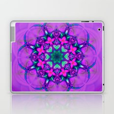 Floral Whirl Laptop & iPad Skin