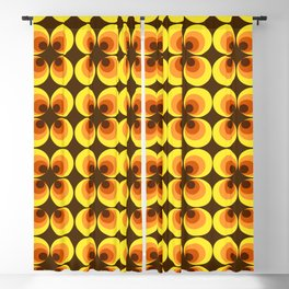 ZAPPWAITS RETRO Blackout Curtain