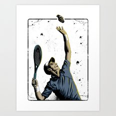 The Serve Art Print