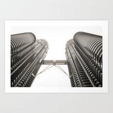 Petronas Towers Art Print