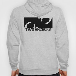 Double Anchor in Black Hoody
