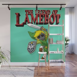 The Legend of LAMEBOT Wall Mural