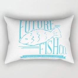 FUTURE FISH CO. Rectangular Pillow