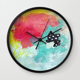 The Good Outweighs The Ugly Wall Clock