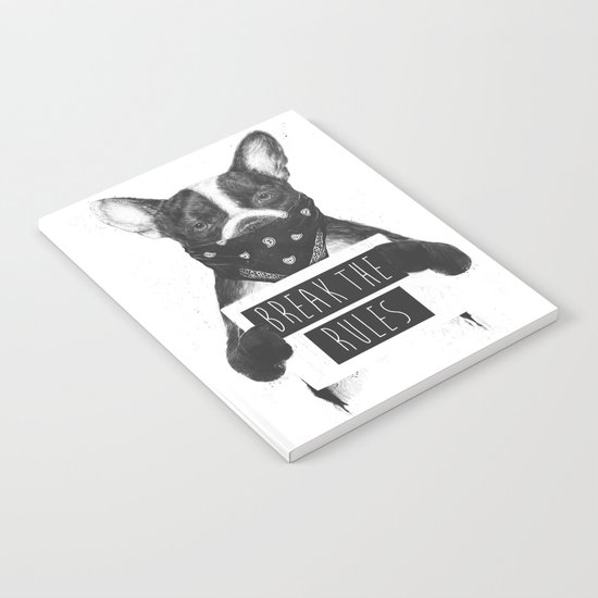 Rebel dog Notebook