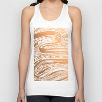 rose gold Tank Tops featuring Rose Gold Galaxy by IndigoEleven