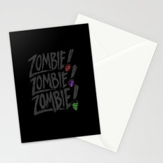 ZOMBIE ZOMBIE ZOMBIE Stationery Cards