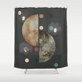 FUTURE UNIVERSE DARK Shower Curtain