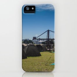 Glamping Camping iPhone Case
