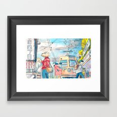 Cold In Yokohama 01 Framed Art Print