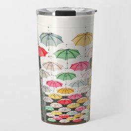 Ireland Dublin | Colorful street photography | Umbrella's Travel Mug