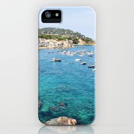 Costa Brava Spain iPhone Case