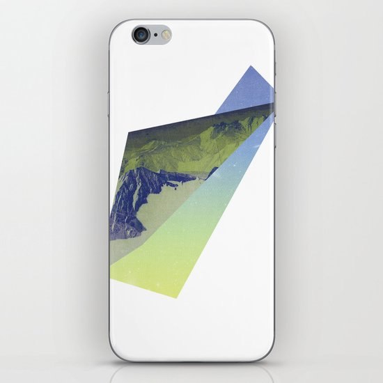 Triangle Mountains iPhone & iPod Skin
