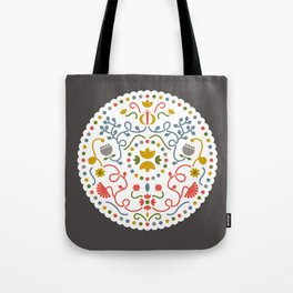 Flower multicolor Tote Bag