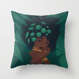 Pilea Throw Pillow