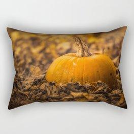 Pumpkin Patch Fall Rectangular Pillow