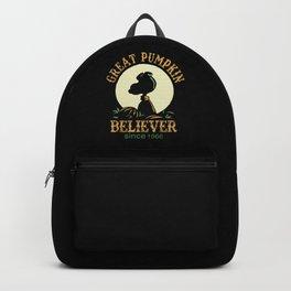 Great Pumpkin Believer Backpack