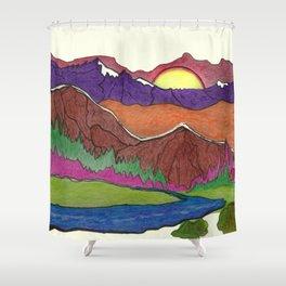 SCENERY Shower Curtain