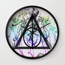 Deathly Hallows Symbol Wall Clock